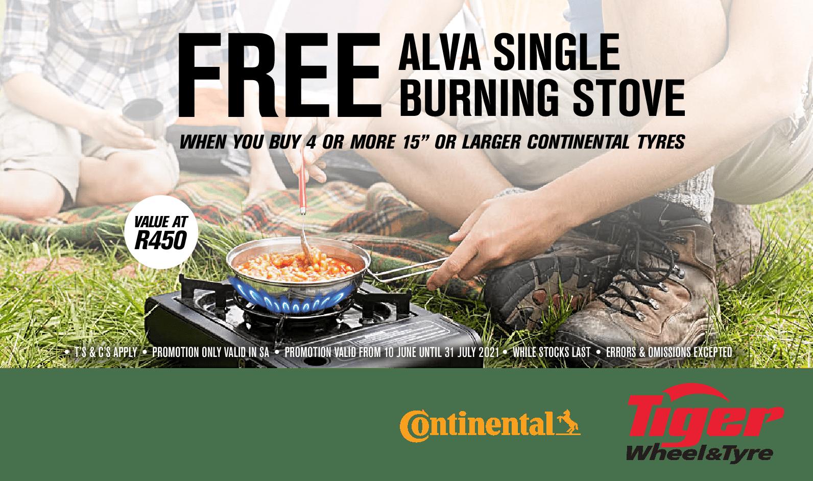 ALVA gas stove promotion